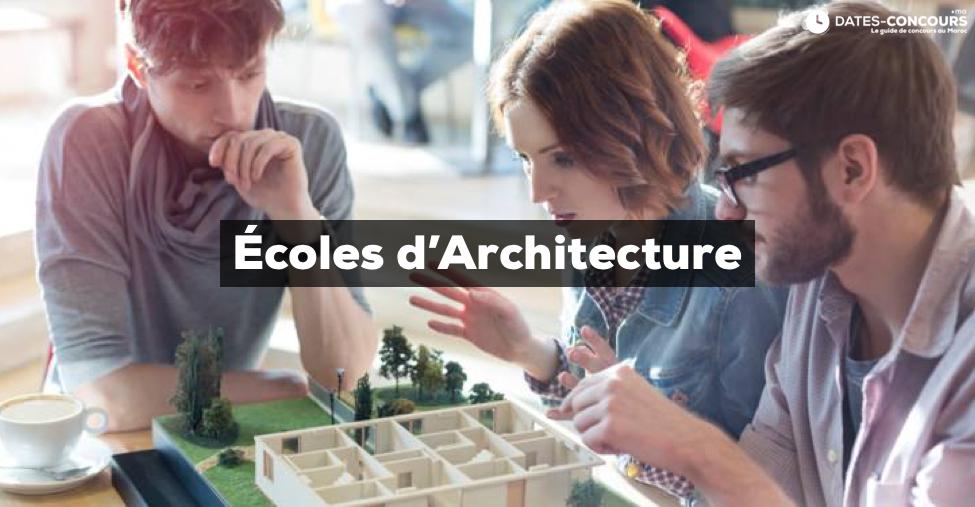 écoles d'architecture