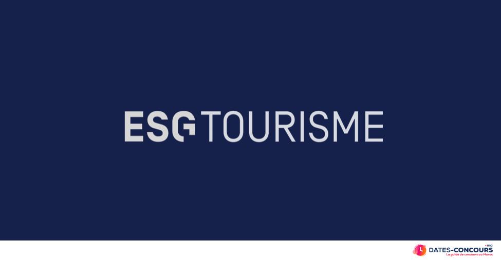 Concours ESG Tourisme