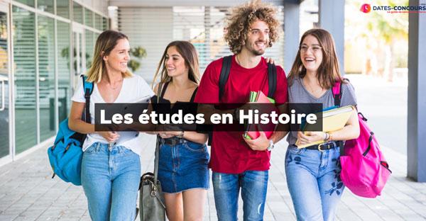 Etudes en Histoire