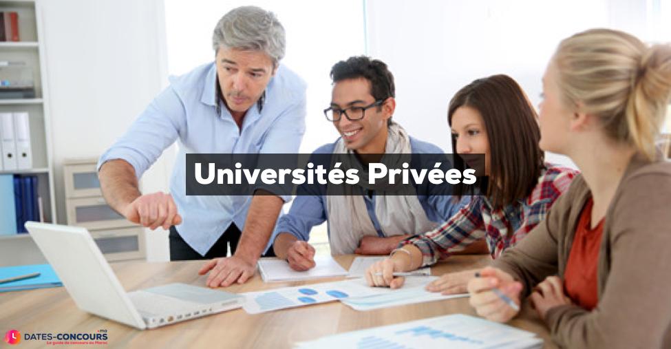 universités privées