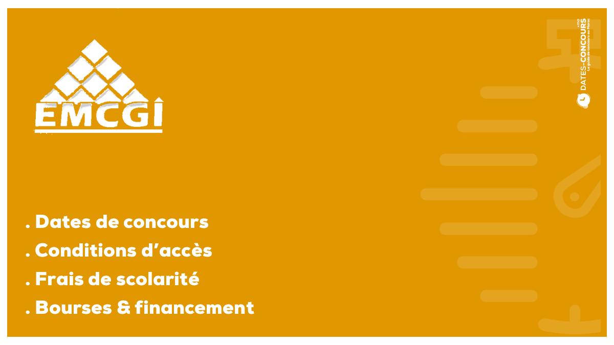 EMCGI - Dates-concours.ma