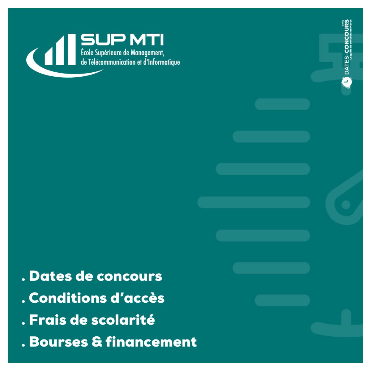 SUP MTI - Dates-concours.ma