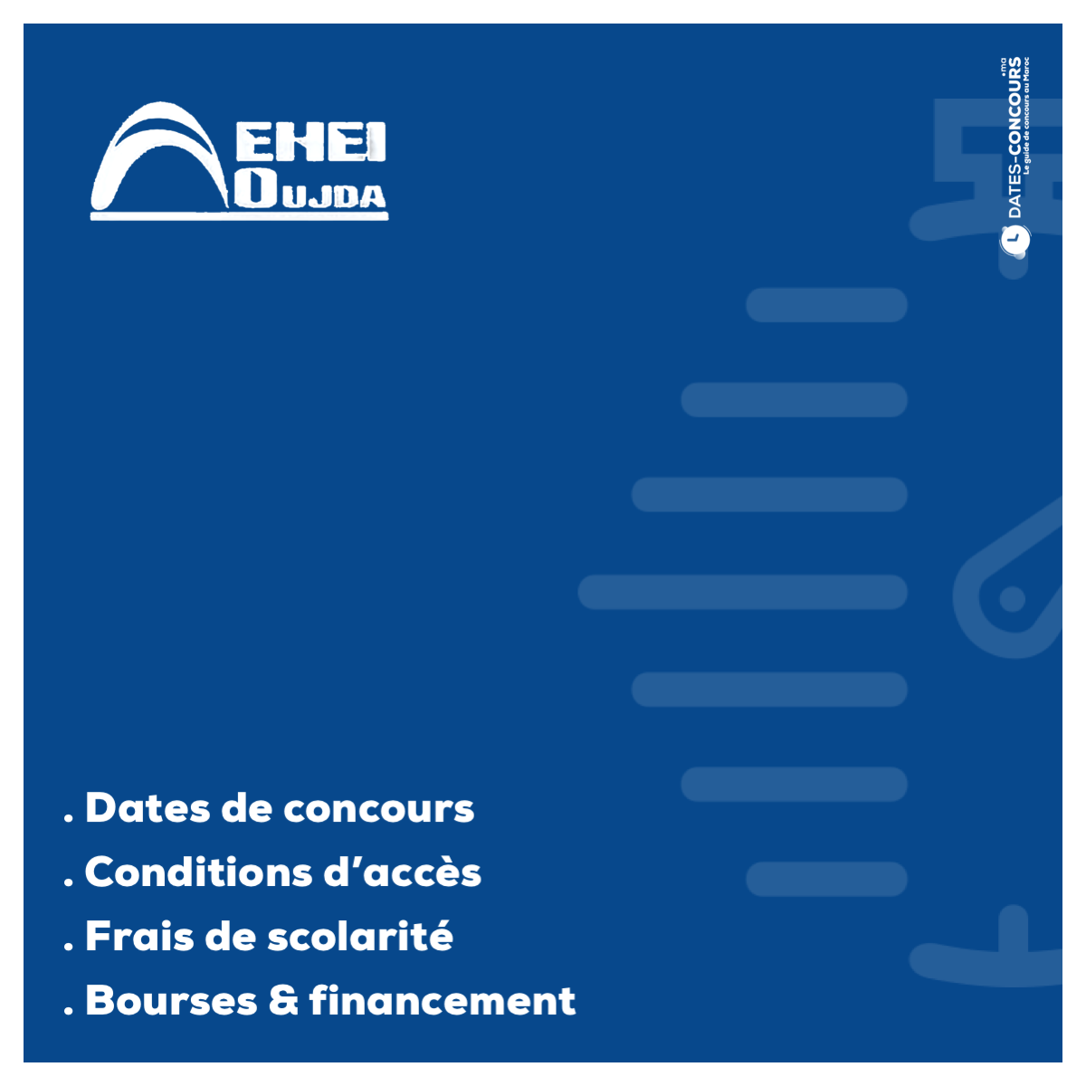 EHEIO - Dates-concours.ma