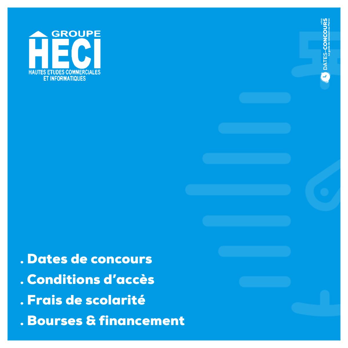 HECI - Dates-concours.ma