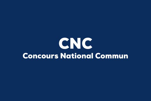 CNC_ concours national commun