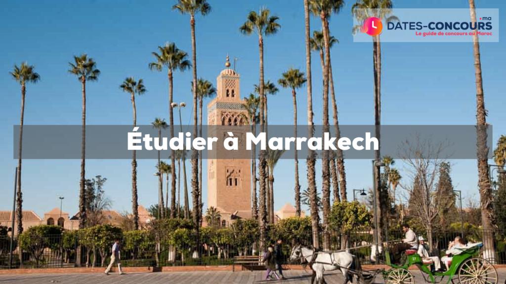 Etudier à Marrakech