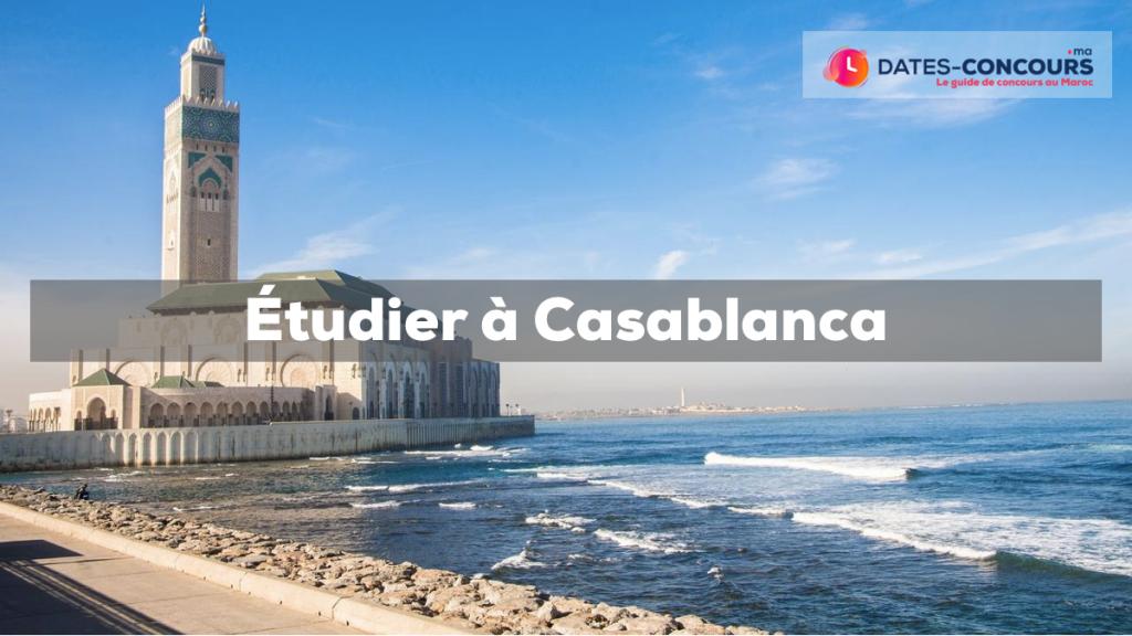 Etudier à Casablanca