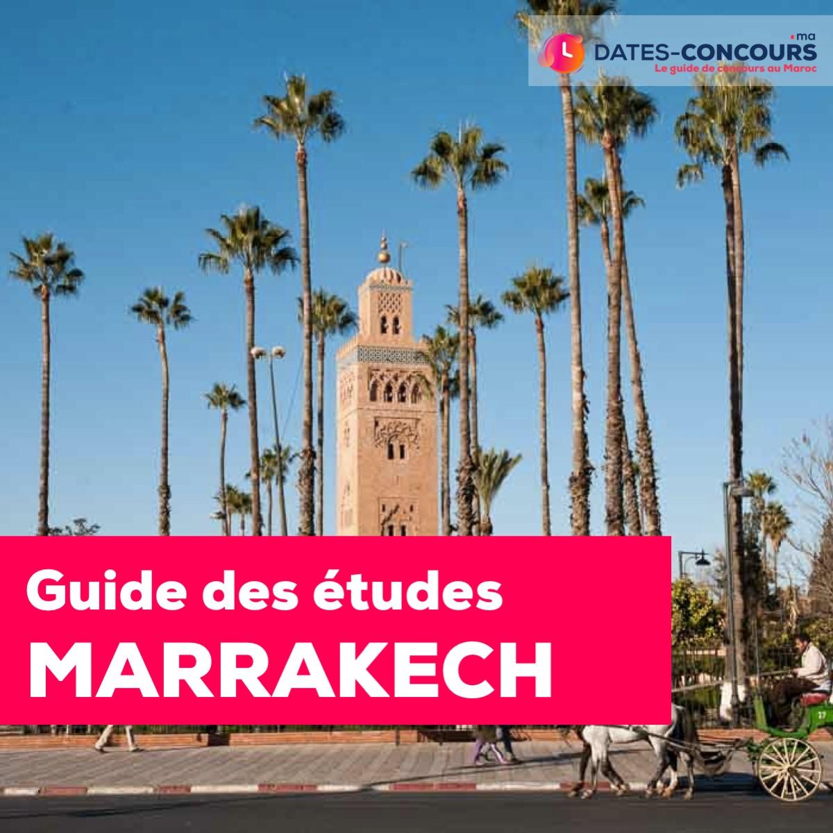 Étudier à Marrakech