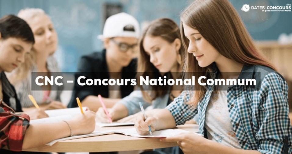 CNC - Concours National Commun