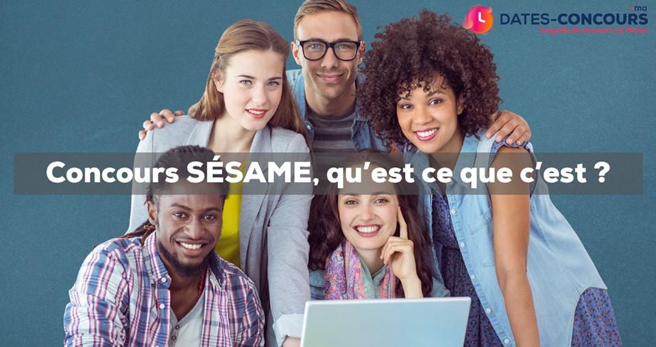Concours Sésame : de quoi il s'agit ?