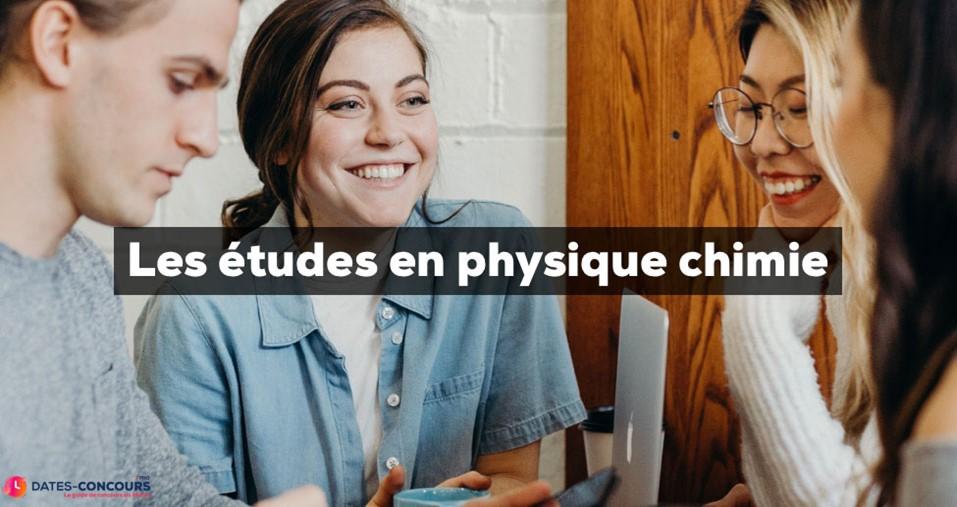 Etudes en Physique Chimie