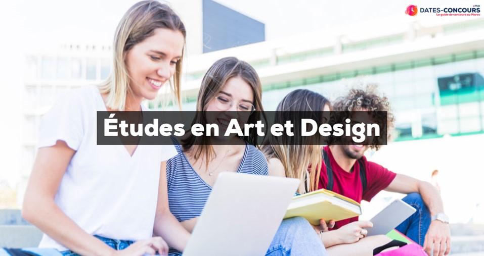 Les études en Art et Design