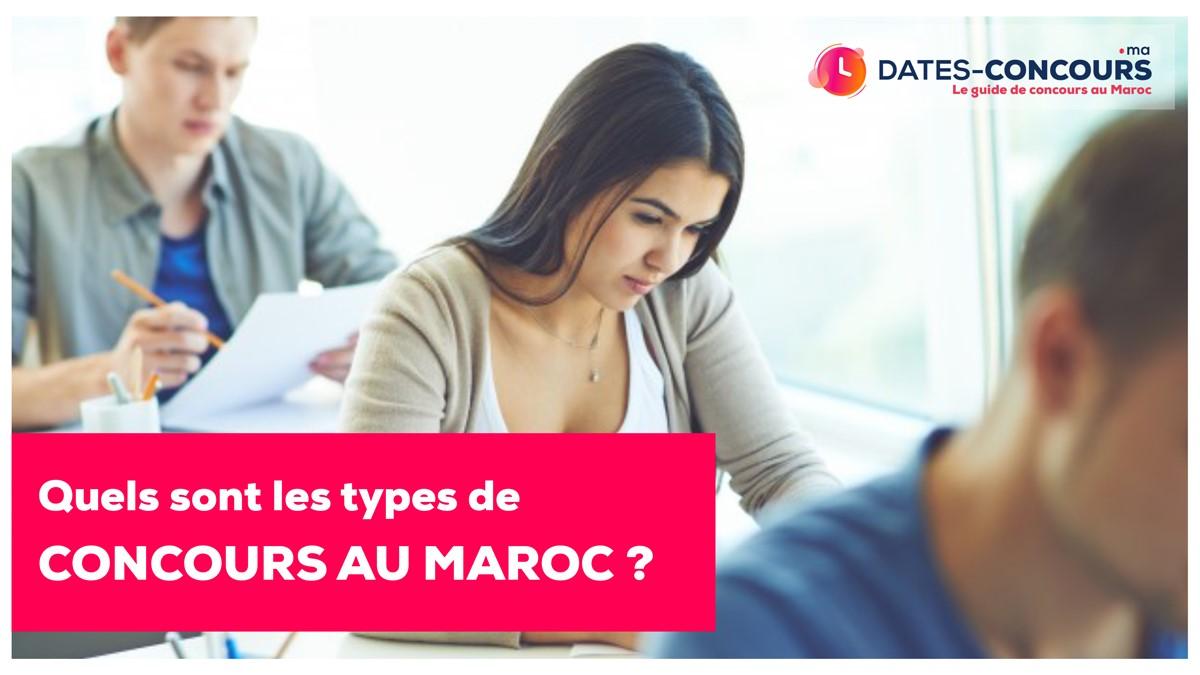 Les Types de Concours Au Maroc