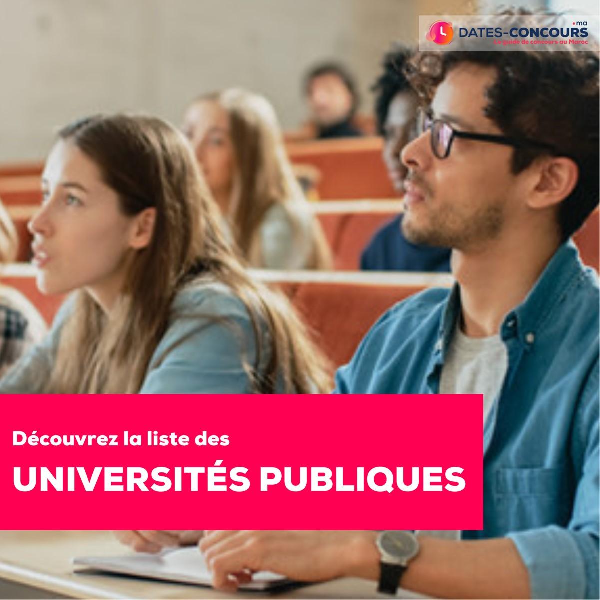 Universités Publiques au Maroc