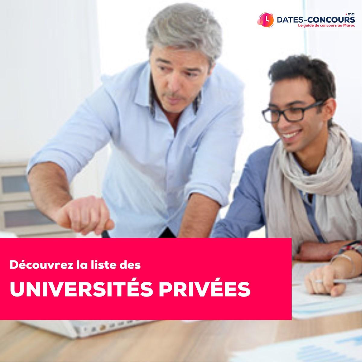 Universités privées au Maroc
