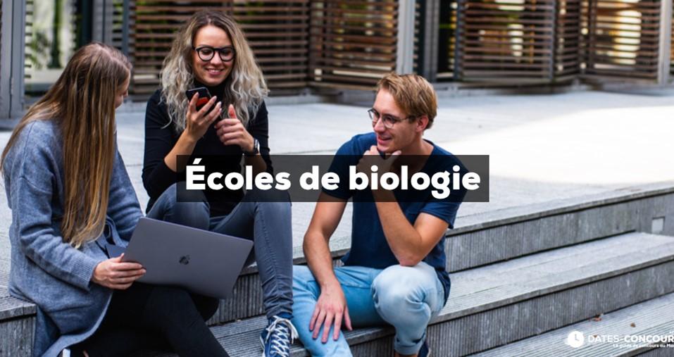 Ecoles de biologie
