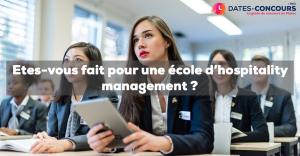 Etes-vous fait pour une école d'hospitality management ?
