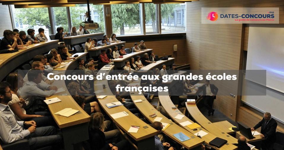 s concours d'entrée aux grandes écoles françaises