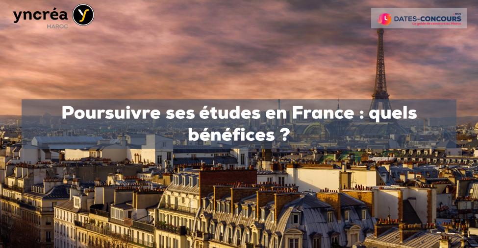 Poursuivre ses études en France : quels bénéfices ?